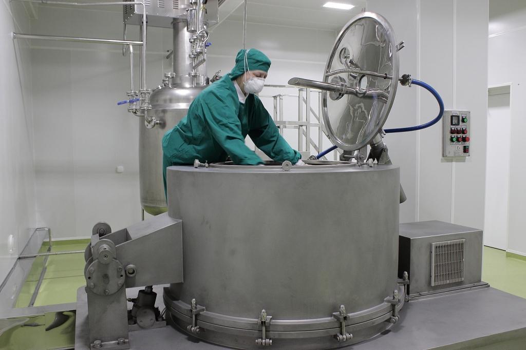 """Работа по строительству нового завода ООО """"Самсон-Мед"""" ведется ускоренными темпами"""